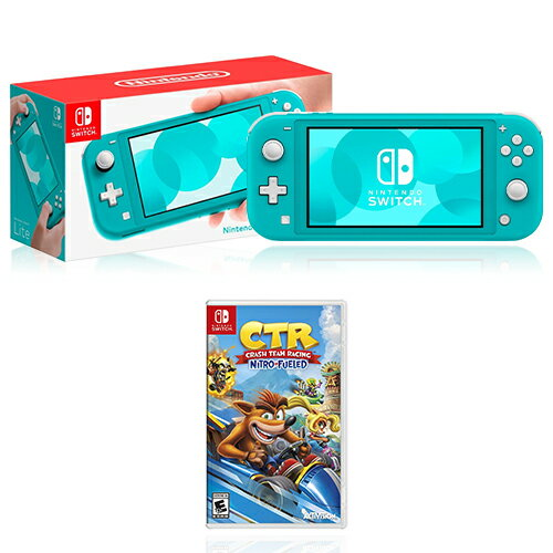 Nintendo Switch Lite 32GB Console  + Crash Team Racing Game