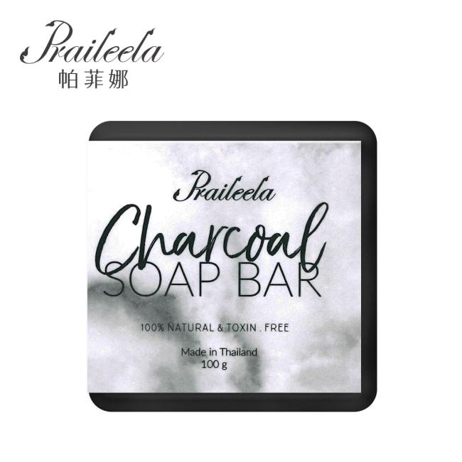 帕菲娜 Praileela 奢華手工精油皂-竹炭100g