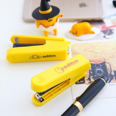 EZMORE購物網:正版蛋黃哥盒裝釘書機(不挑款)辦公文具釘書機三麗鷗SANRIO【B062450】