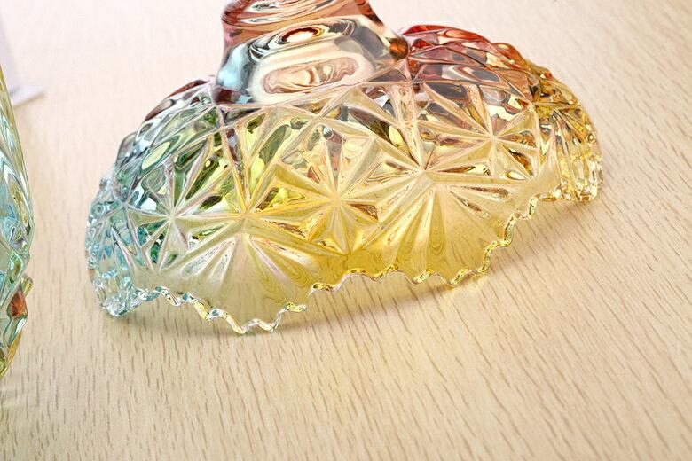 皇冠水晶玻璃罐(小-10.5X13cm) [大買家] 3