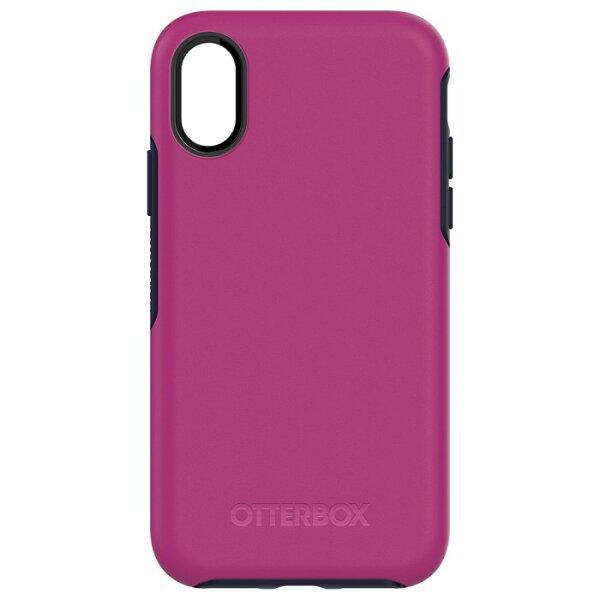 貝殼嚴選:【貝殼】『OtterBox』iPhoneXSymmetrySeries炫彩系列-紫色