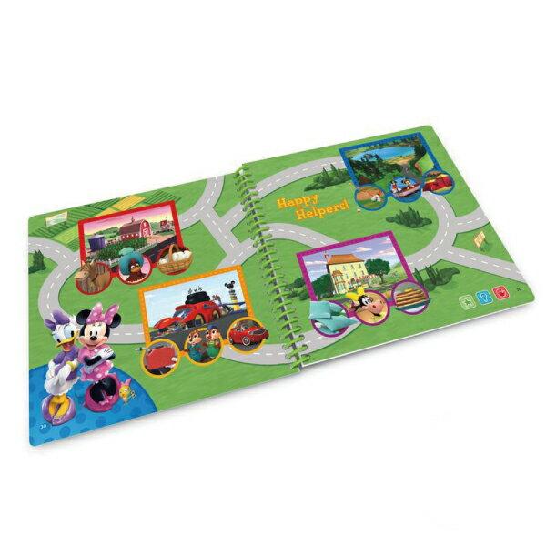 美國 LeapFrog 跳跳蛙 LeapStart 幼兒11-米奇妙妙車隊3D 全英行動學習書籍 5
