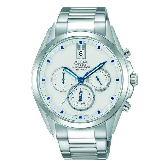 ALBAVD53-X264S(AT3B09X1)大視窗日期時尚型男計時腕錶43.6mm