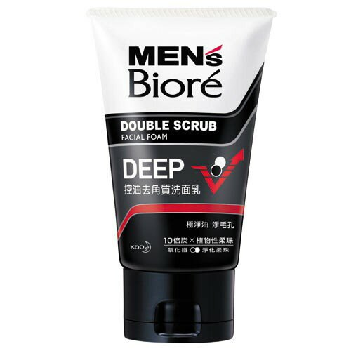 MEN'S Biore 蜜妮 男性專用控油洗面乳 100g