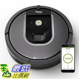 [106美國直購] [升級原廠鋰電池讓功能等同980型] iRobot Roomba 960 Robotic Vacuum 第9代掃地機器人吸塵器