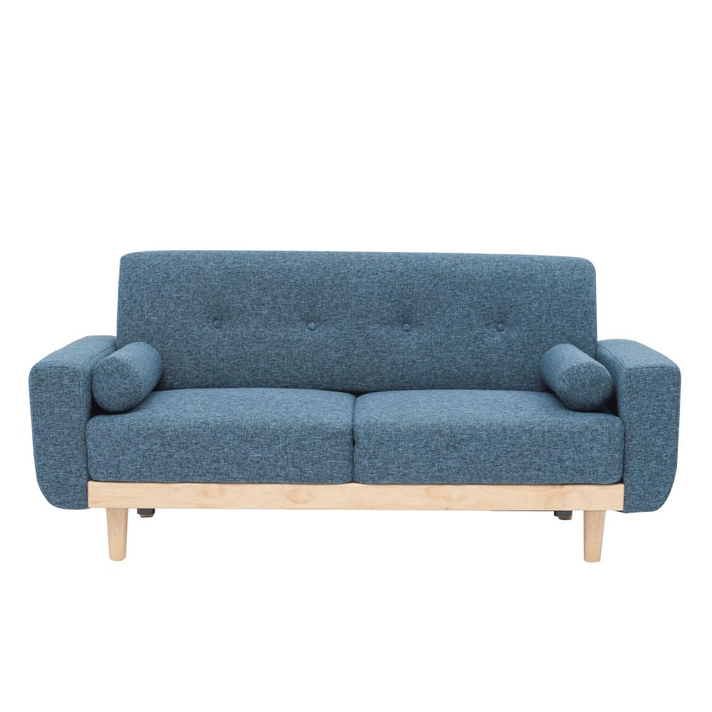 沙發 / 椅子 Vega 雷思麗北歐木作2.5人座沙發(五色) 完美主義【Y0010】 1