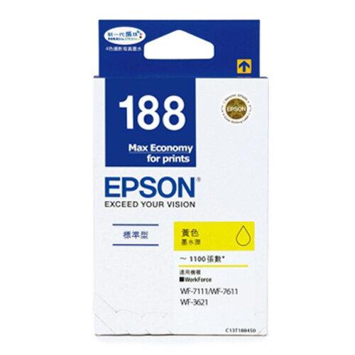 EPSON 原廠墨水匣 T188450 (黃)