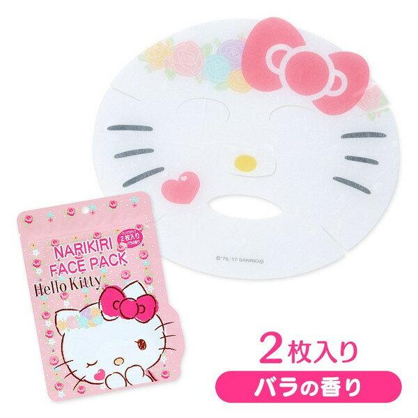 X射線【C095027】Hello Kitty面膜-花(玫瑰香),美白面膜/保濕面膜/面膜紙/保養面膜/補水面膜/醫美