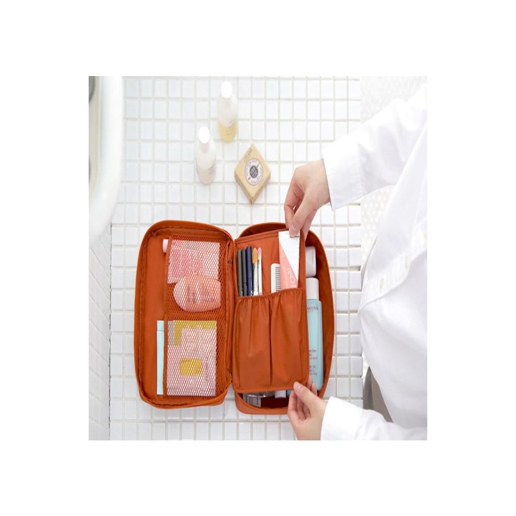 隨身化妝包 萬用包摺疊袋 攜帶方便 收納包 化妝包 包包收納袋 包包整理袋