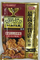 [哈日小丸子]日清炸雞粉-香味醬油大蒜(100g)