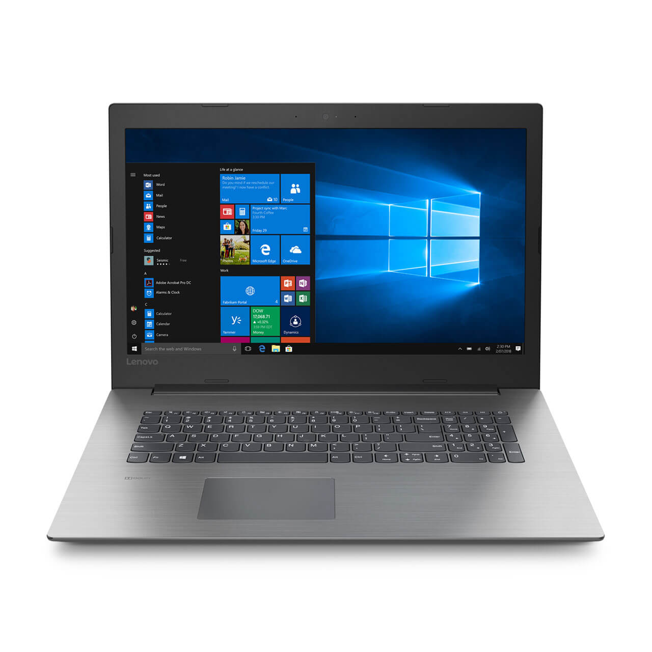 "Lenovo Ideapad 330, 17.3"", i5-8250U, 12 GB RAM, 2TB 5400 RPM, Win 10 Home 64 0"
