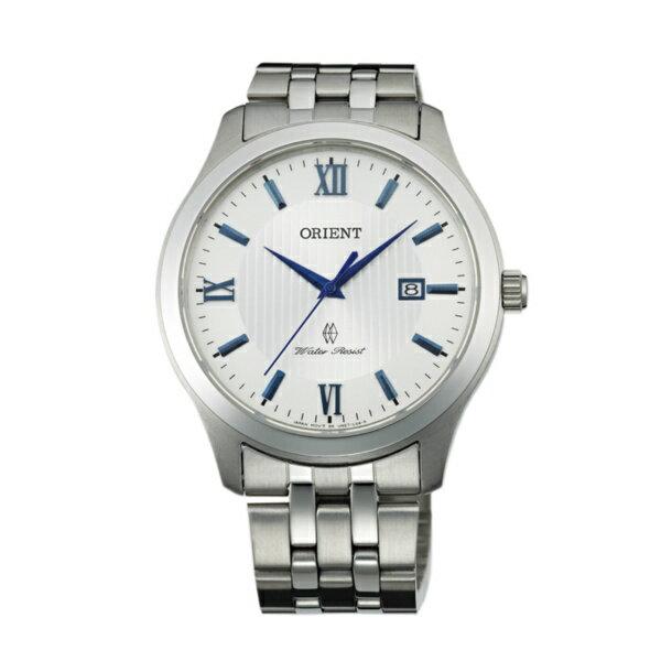 Orient 東方錶(FUNE7008W)羅馬紳士簡約腕錶/白面40mm