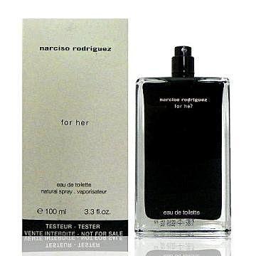 香水1986☆ Narciso Rodriguez For Her 同名經典女香淡香水 TESTER 100ml