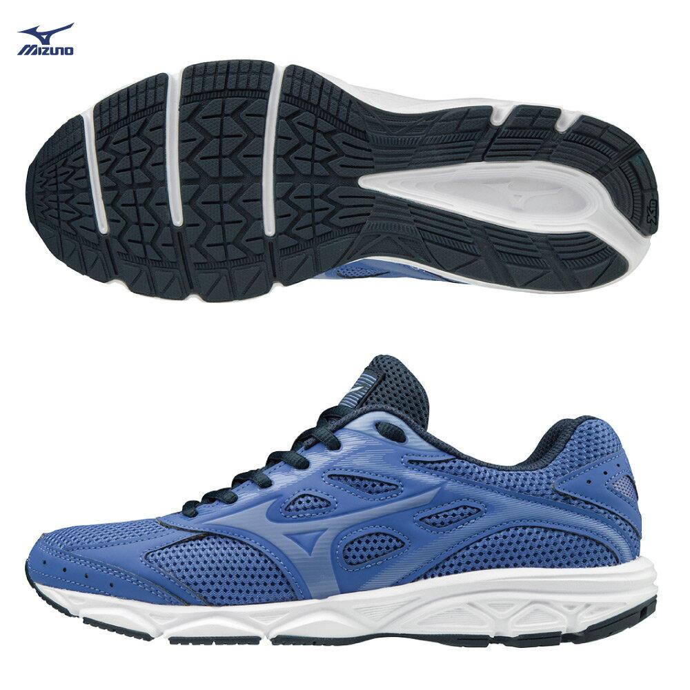 MIZUNO SPARK4 一般型女款慢跑鞋 K1GA190468(紫藍)【美津濃MIZUNO】 0