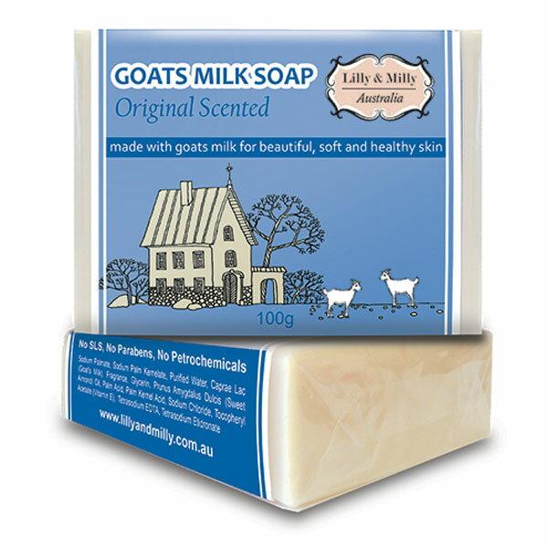 Lilly & Milly 奶香味羊奶護膚皂100g x1