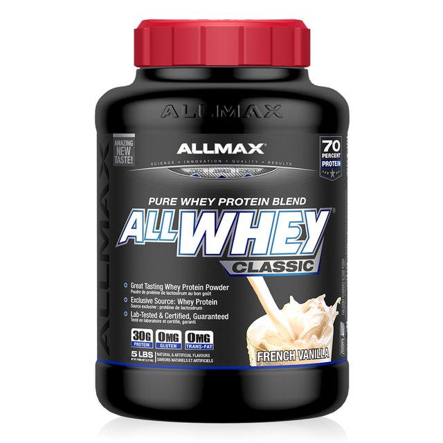 【加拿大ALLMAX】奧美仕乳清蛋白飲品香草口味(2270公克)