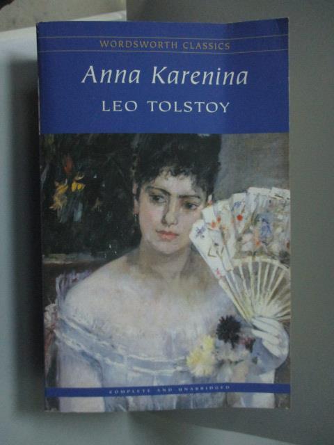 ~書寶 書T4/原文小說_NQW~Anna Karenina_Tolstoy