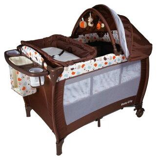 娃娃城 Baby City 全配式雙層遊戲床●嬰兒床●尿布檯