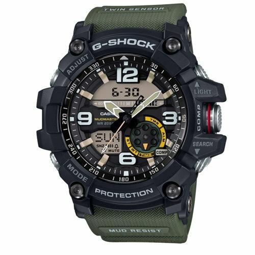 CASIO G-SHOCK / 極地冒險勇者無敵運動錶 / 強悍綠 / GG-1000-1A3DR - 限時優惠好康折扣