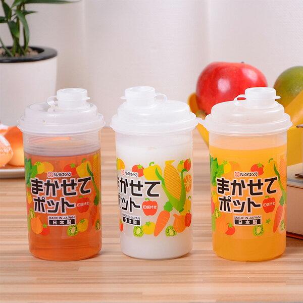 BO雜貨【SV8237】日本製 果汁杯540ml 隨手杯 外帶檸檬杯 便攜茶水壺 防漏杯塑膠水杯 K175