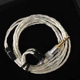 志達電子 Silver Fox(銀狐) HiSS漢聲小舖 4N OFHC鍍銀線蕊 IE80 W60 UE900 SE535 JH16 1964 Westone 升級線 耳機 發燒