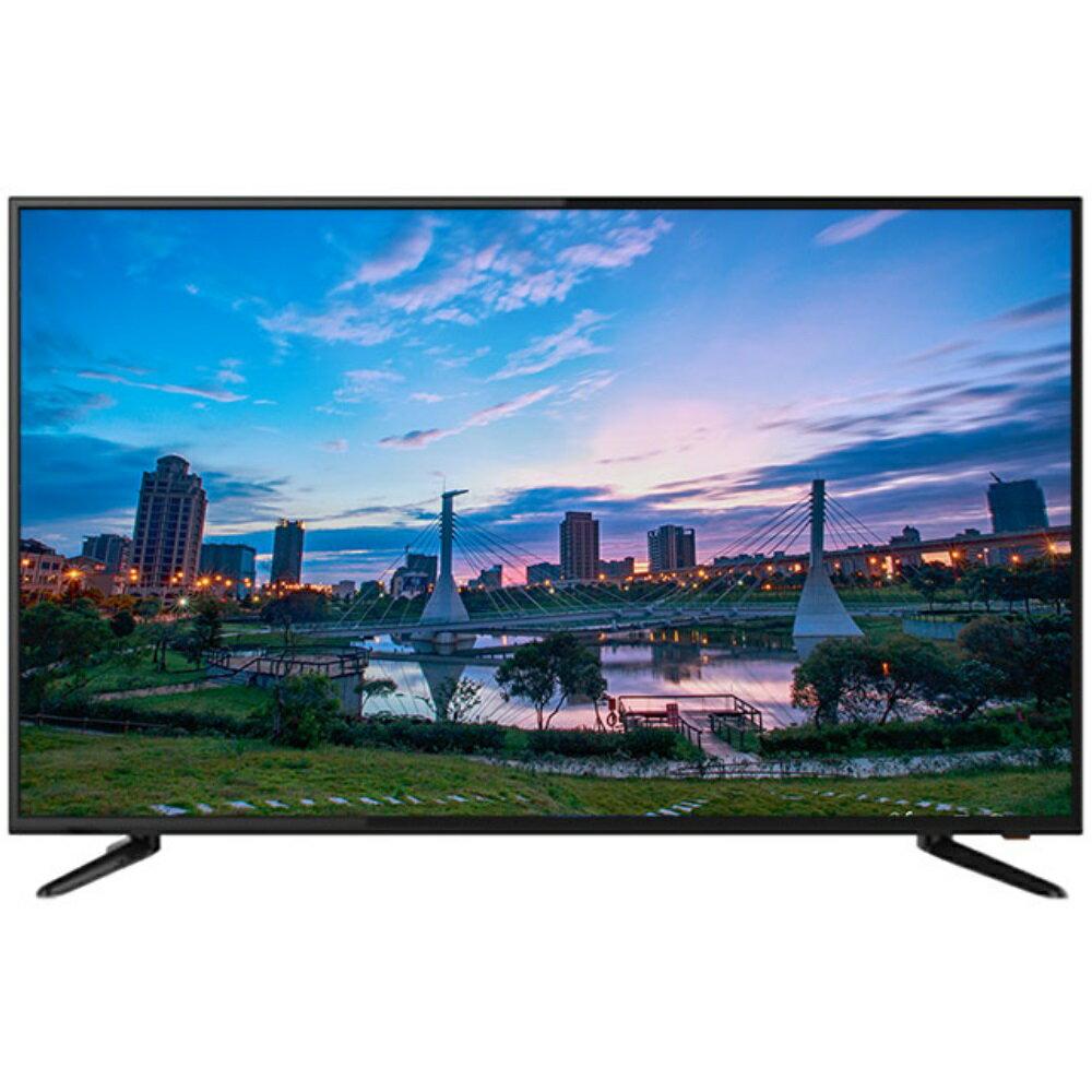 全館回饋10%樂天點數★Westinghouse美國西屋 55吋 4K液晶顯示器+視訊盒 DET- 55A10K