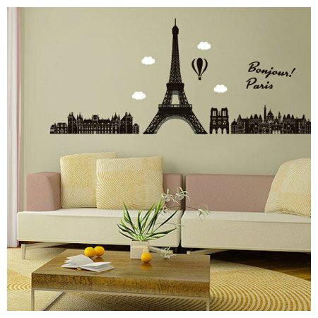 壁貼 巴黎 50×70 NITORI宜得利家居