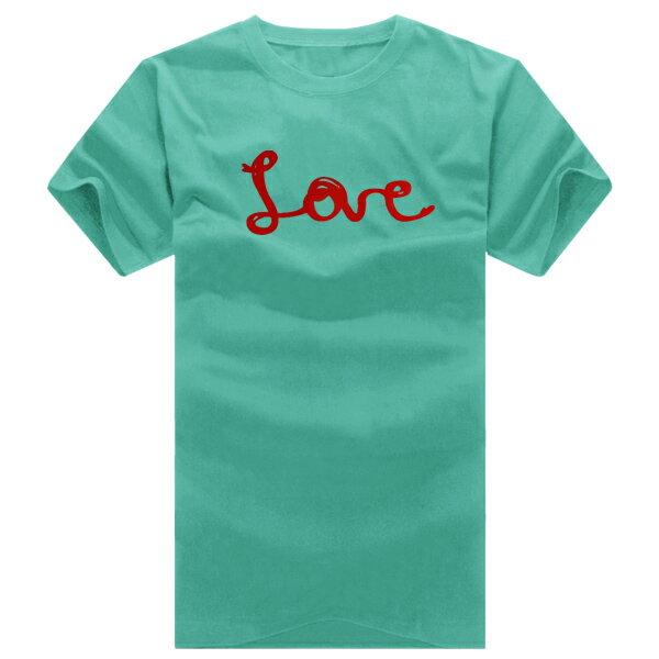 T恤 親子裝 全家福  可客製化 MIT台灣製純棉短T 班服◆快速出貨◆獨家配對情侶裝.紅線LOVE愛心【YC168】可單買.艾咪E舖 5