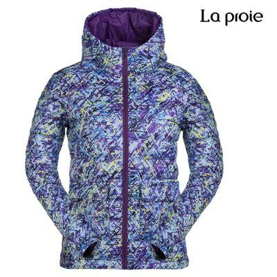 La proie 女式超輕印花羽絨服(兩色) 3