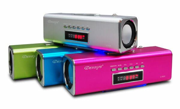 <br/><br/>  【Dennys】MP3/USB/讀卡/ 炫彩音響喇叭(U-3020)<br/><br/>