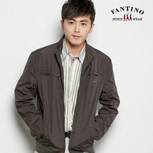 【FANTINO】男裝 運動休閒款超薄防風外套 (咖啡色)135147 0
