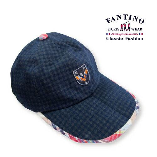 【FANTINO】男款 紳士格紋休閒帽  439202