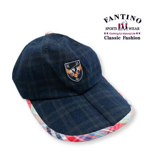 【FANTINO】男款  大格紋法式休閒帽  439204