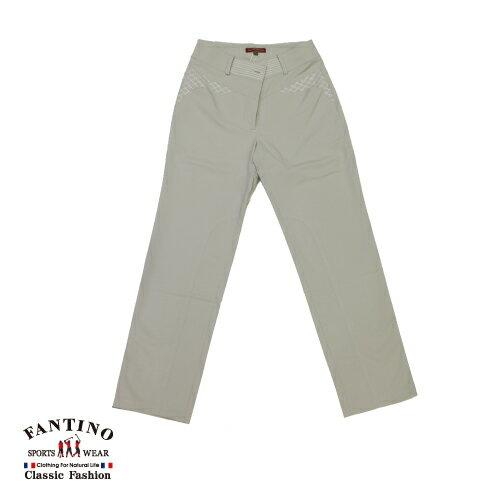 【FANTINO】女裝 吸濕排汗SCOTCHGARD休閒褲(灰)273204 0