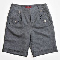 【FANTINO】女款 親膚羊毛短褲083301(灰)