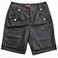 【FANTINO】女款 親膚羊毛短褲083302(黑)