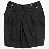 【FANTINO】女款 氣質女孩必備短裙083501(黑)