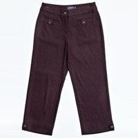 【FANTINO】女款 質感超優七分褲723628(紫)