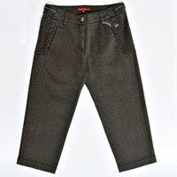 【FANTINO】女款 超柔軟七分褲(咖啡) 963304
