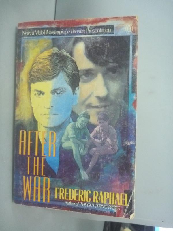 ~書寶 書T7/原文小說_HII~After the war_Frederic Rapha
