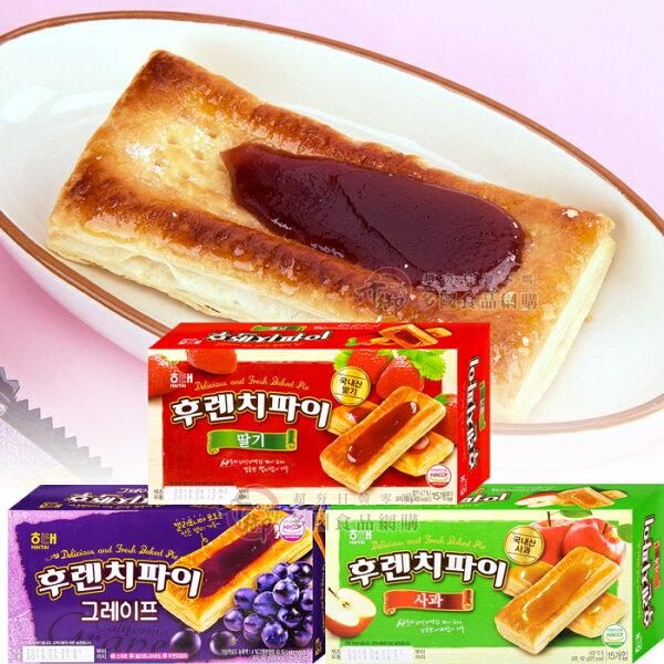 韓國海太HAITAI法國千層派192g葡萄蘋果草莓[KR12939]千御國際