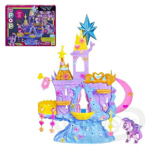 【Playwoods】[彩虹小馬My Little Pony]POP紫悅公主城堡遊戲組-第五季(孩之寶Hasbro/Twilight Sparkle/女生玩具)