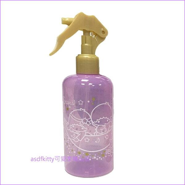 asdfkitty可愛家☆雙子星紫色噴霧式空瓶空罐-250ML-日本正版商品