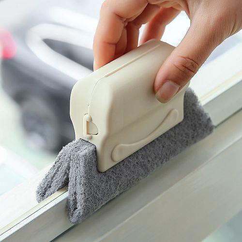 【超取399免運】窗戶槽溝清潔刷 紗窗槽清洗工具 窗溝刷 (顏色隨機出貨)