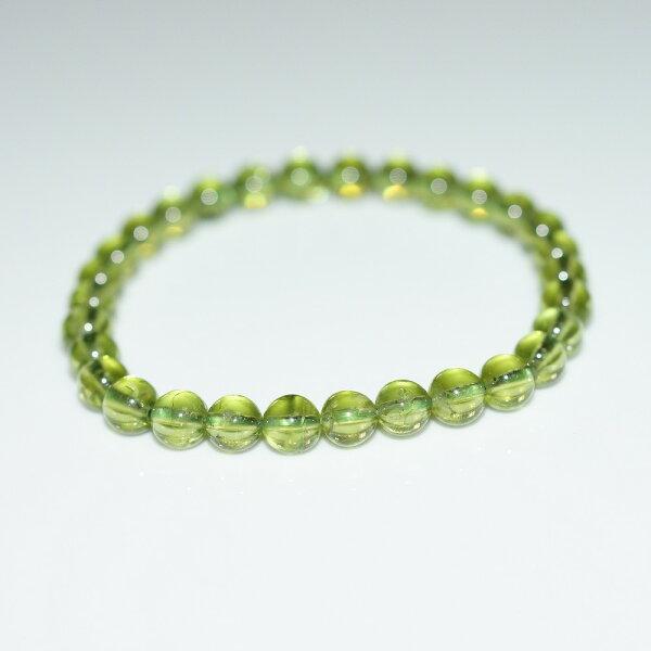 【喨喨飾品】橄欖石能量手鍊N387