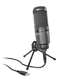 鐵三角 Audio-Technica AT2020+ USB 靜電型電容式麥克風 (鐵三角公司貨)