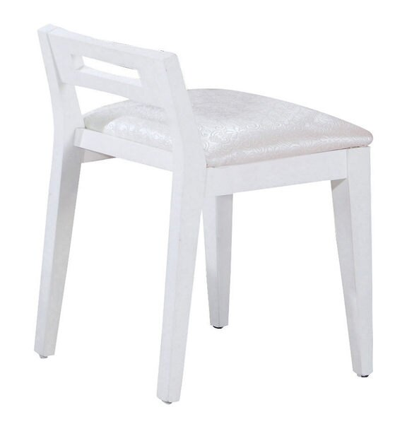 ~石川家居~GD~412~7 塔妮雅全白化妝椅 ^(不含化妝台及 ^) 台中以北 車趟