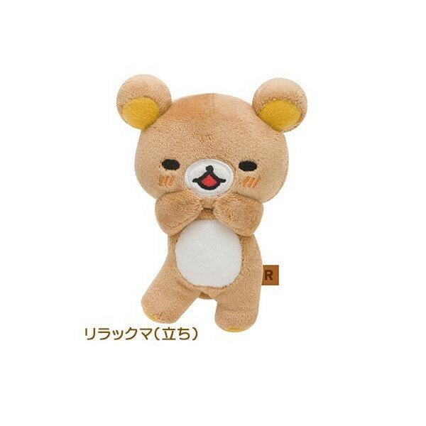 【真愛日本】16082000021棉柔公仔SS-懶熊表情樂拉拉熊 Rilakkuma 娃娃 擺飾 收藏