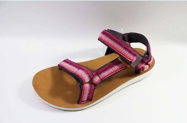[陽光樂活]TEVA(女)ORIGINAL UNIVERSAL OMBRE織帶涼鞋-TV1010323RASP