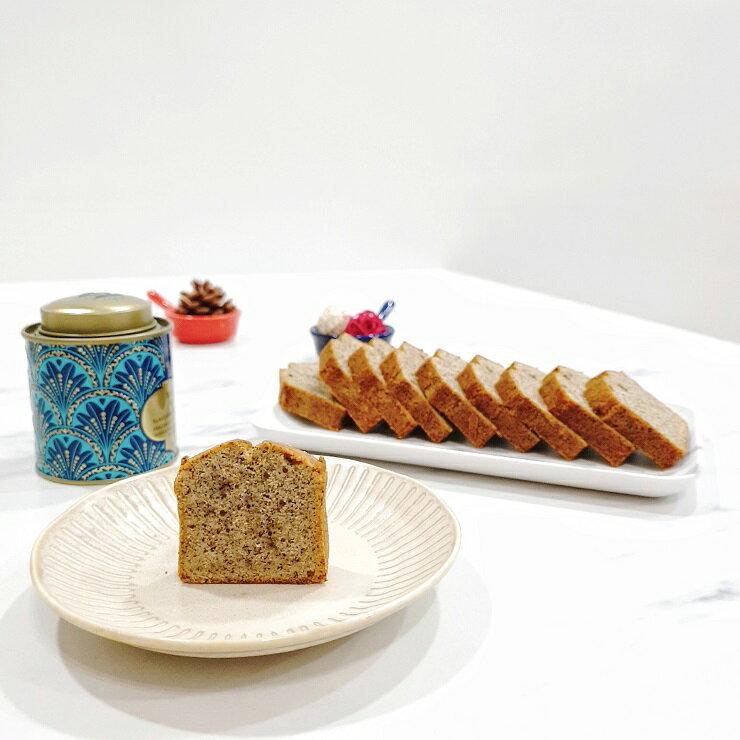 【微甜時光】英式伯爵茶磅蛋糕 (1盒10片)